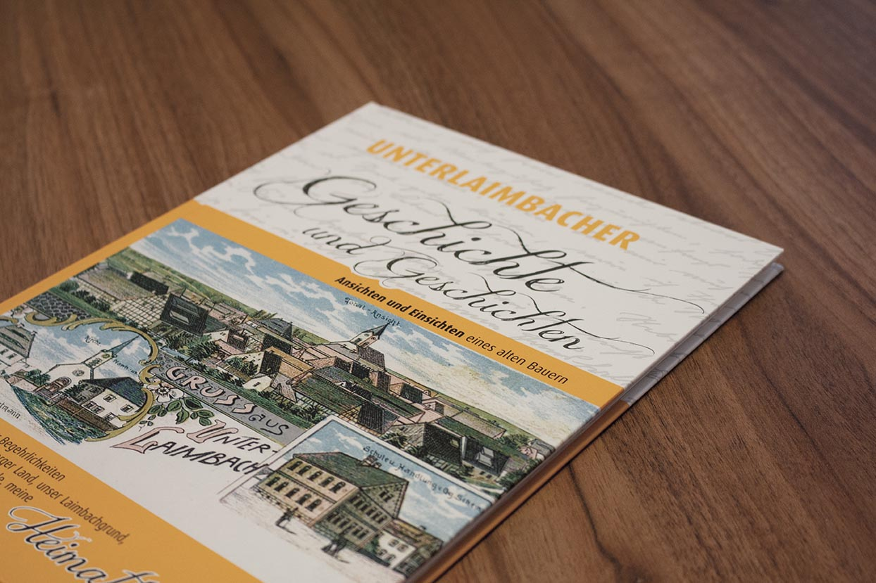 Buch - Unterlaimbacher Geschichte