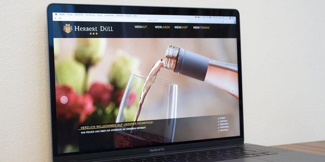 Website - Weingut Düll