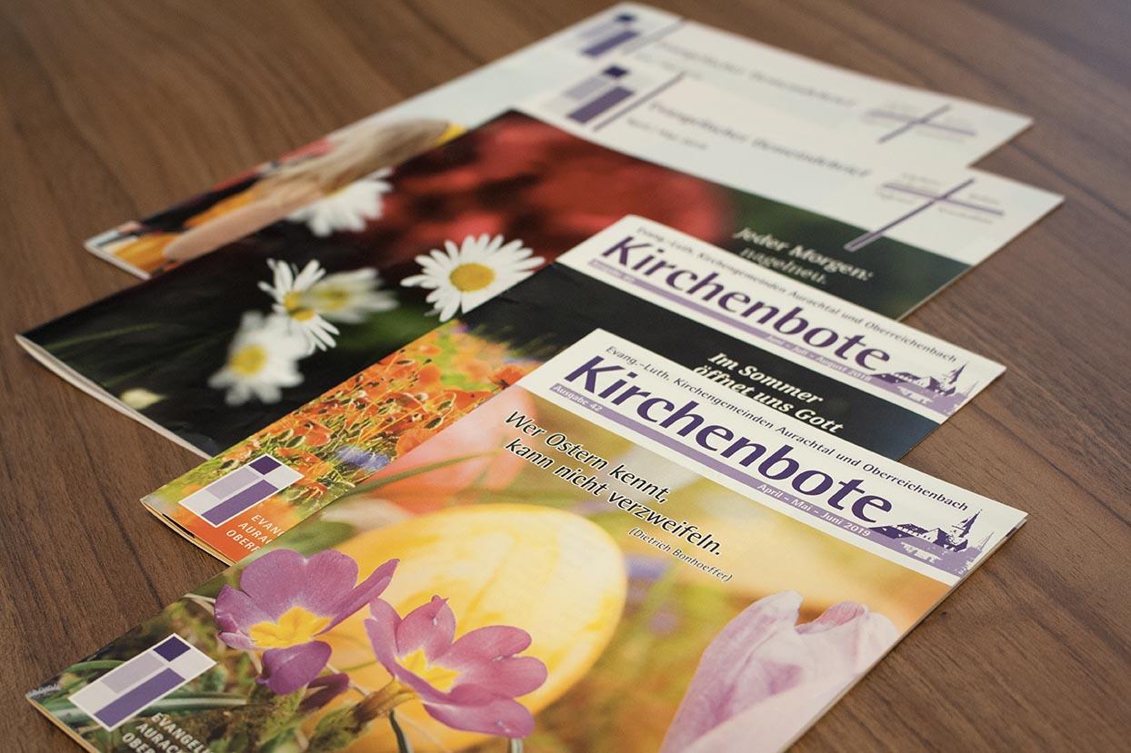 Broschüren - Gemeindebriefe